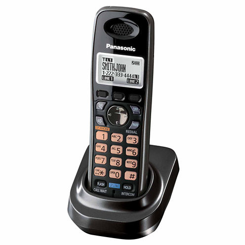 Panasonic KX-TGA939T DECT 6.0 Accessory 2-Line Additional Digital Cordless Handset for KX-TG939 Series