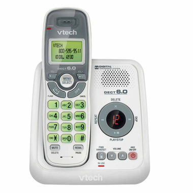 jcpenney.com | VTech CS6124 DECT 6.0 Cordless Answering System with Caller ID/Call Waiting - White