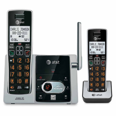 jcpenney.com | AT&T CL82213 DECT 6.0 Cordless Phone with Answering System - 2 Handsets