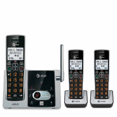 jcpenney.com | AT&T 3-Handset Cordless Telephone with Answering System