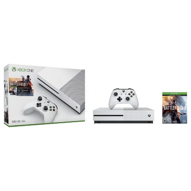 jcpenney.com | Microsoft - Xbox One S 500GB Battlefield™ 1 Special Edition Console Bundle