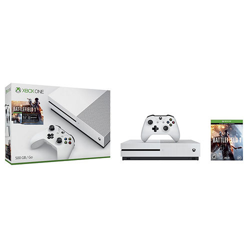 Microsoft - Xbox One S 500GB Battlefield™ 1 Special Edition Console Bundle