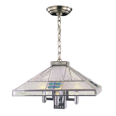 jcpenney.com | Dale Tiffany™ Blue Fused 3-Light Hanging Fixture
