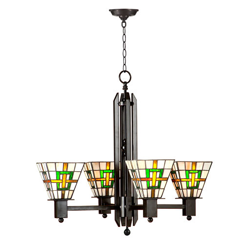 Dale Tiffany™ Brune Mission 4-Light Hanging Fixture