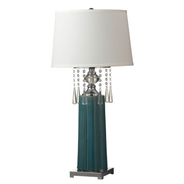 jcpenney.com | Dale Tiffany™ Tori Crystal Table Lamp