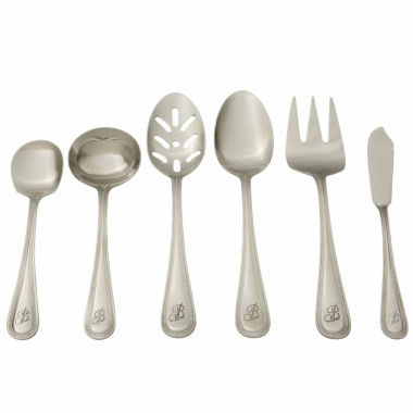 jcpenney.com | RiverRidge Beaded 46PC Personalized or Solid Flatware Set A