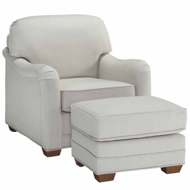 jcpenney.com | Heather Chair Ottoman Faux Leather Chair