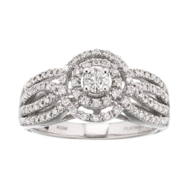 jcpenney.com | I Said Yes™ 1/2 CT. T.W. Certified Diamond Engagement Ring