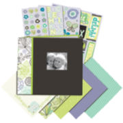 Black & White Mega Scrapbook Kit