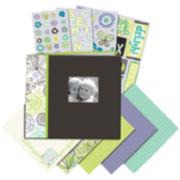 Black & White Mega Scrapbook Kit
