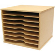 Beyond The Page MDF Scrapbooking Paper Storage Unit