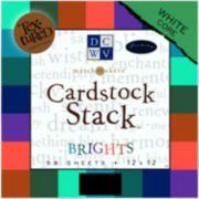 Textured Brights Cardstock Stack