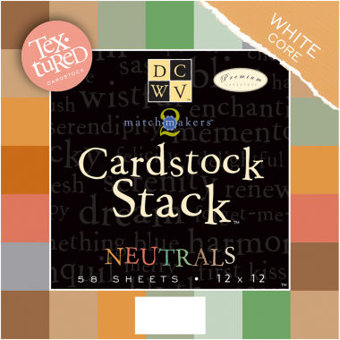 jcpenney.com | 58-Pack Textured Neutrals Cardstock Stack