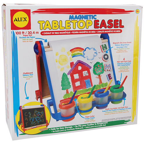 ALEX TOYS® Magnetic Table Top Easel Kit