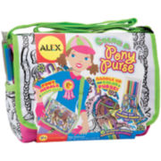 ALEX TOYS® Color A Pony Purse Kit