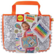 ALEX TOYS® Color A Tote Bag Kit-Paisley Flower