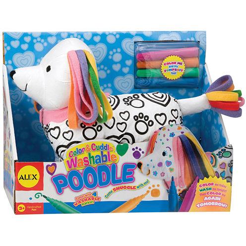 ALEX TOYS® Color & Cuddle Washable Kit-Poodle