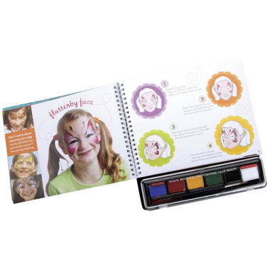 jcpenney.com | Face Painting Book Kit