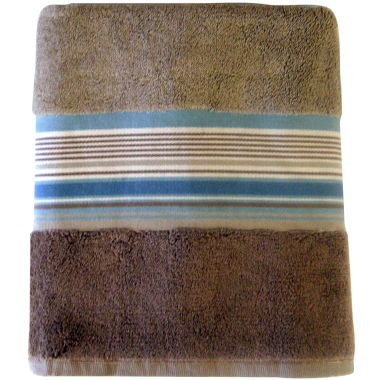 jcpenney.com | Seersucker Stripe Decorative Bath Towels