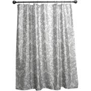 Royal Velvet® Silver Damask Shower Curtain