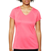 Xersion™ Recycled Mesh Essential V-Neck Tee