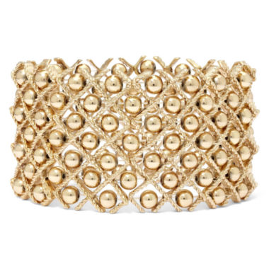 jcpenney.com | Gold-Tone Bead Stretch Bracelet