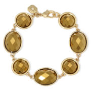 Monet® Gold-Tone Metallic Flex Bracelet
