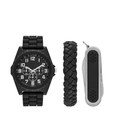 jcpenney.com | Fashion Watches Mens Black Watch Boxed Set