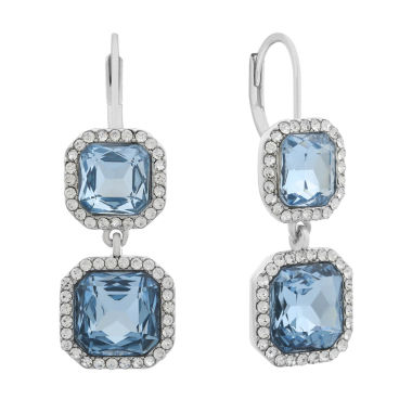 jcpenney.com | Monet Jewelry Blue Drop Earrings