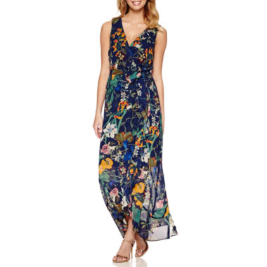 jcpenney.com | Signature by Sangria Sleeveless Maxi Dress