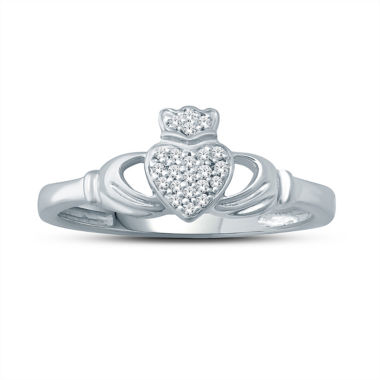 jcpenney.com | Womens Diamond Accent White Diamond Accent 10K Gold Cocktail Ring