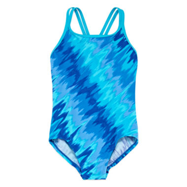 jcpenney.com | Nike Girls Solid One Piece Swimsuit-Big Kid