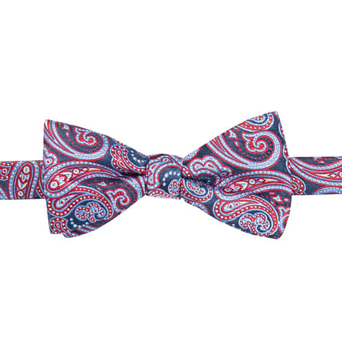 Stafford Temecul A Paisley Pre-Tied Bowtie