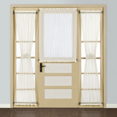 jcpenney.com | United Curtain Co. Batiste Rod-Pocket Door Panel