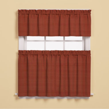 jcpenney.com | Saturday Knight Austin Rod-Pocket Kitchen Curtains