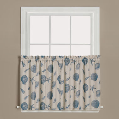 jcpenney.com | Saturday Knight Seychelles Rod-Pocket Window Tiers