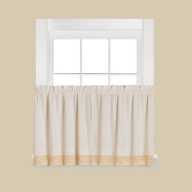 jcpenney.com | Saturday Knight Heritage Rod-Pocket Window Tiers