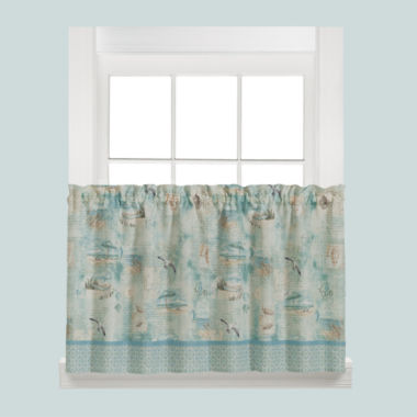 jcpenney.com | Saturday Knight High Tide Rod-Pocket Window Tiers