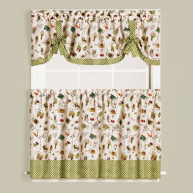 jcpenney.com | Saturday Knight Homegrown Rod-Pocket Kitchen Curtains