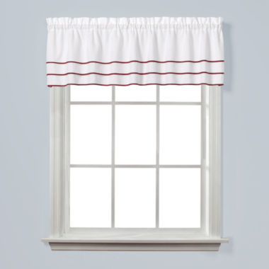 jcpenney.com | Saturday Knight Anne Rod-Pocket Tailored Valance