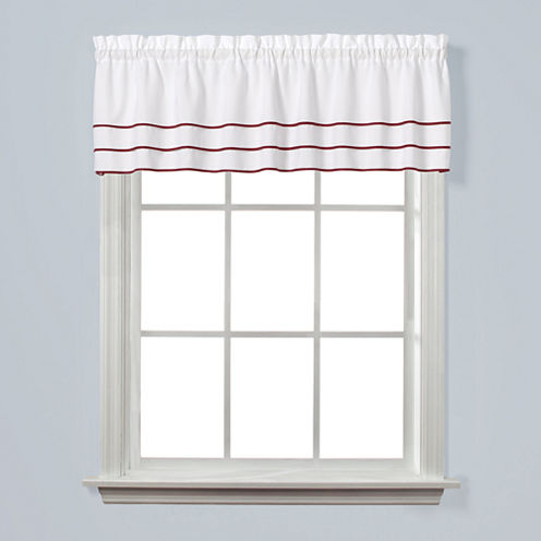 Saturday Knight Anne Rod-Pocket Tailored Valance