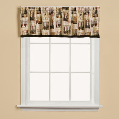 jcpenney.com | Saturday Knight Vino Rod-Pocket Valance