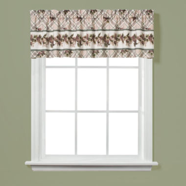 jcpenney.com | Saturday Knight Pinecone Plaid Rod-Pocket Valance