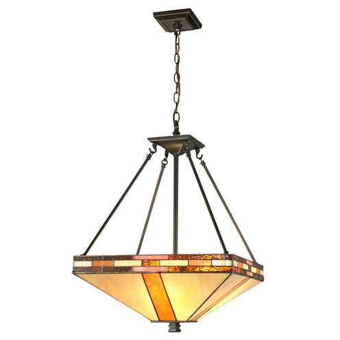 Dale Tiffany™ Bellow Mission Inverted Hanging Fixture