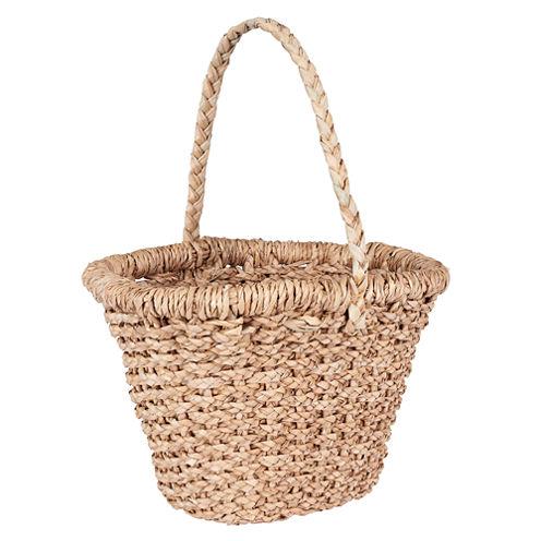 Household Essentials Wicker Tote Basket