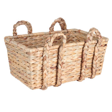 jcpenney.com | Household Essentials Rectangular Floor Basket