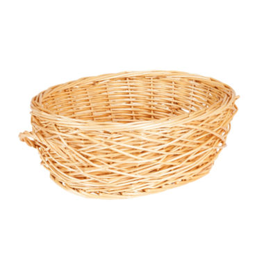 jcpenney.com | Household Essentials® Spring Bird Nest Willow Oval Basket
