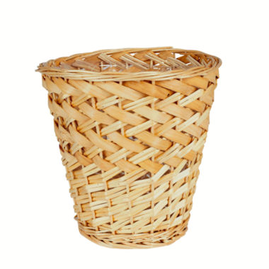 jcpenney.com | Household Essentials® Willow and Poplar Waste Basket