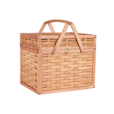 jcpenney.com | Household Essentials® Bamboo Picnic Basket