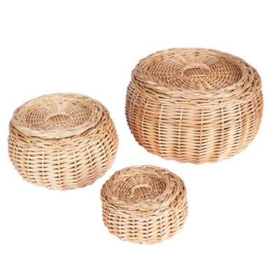 jcpenney.com | Household Essentials Willow Storage 3-pc. Basket